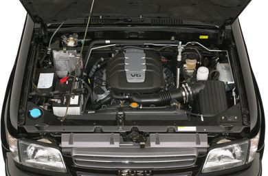 Engine Bay  2001 Isuzu Trooper
