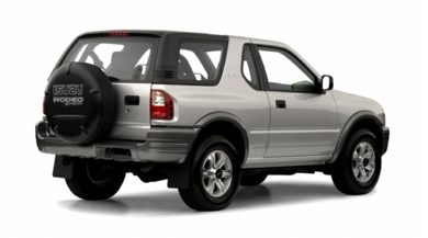 3/4 Rear Glamour  2001 Isuzu Rodeo Sport