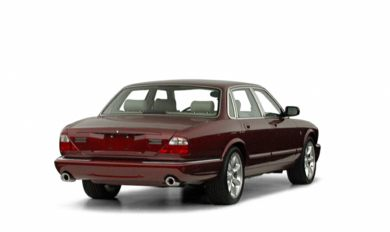 3/4 Rear Glamour  2001 Jaguar XJR