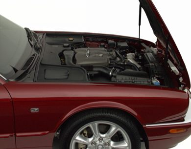 Engine Bay  2001 Jaguar XJR