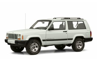 3/4 Front Glamour 2001 Jeep Cherokee