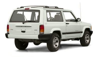 3/4 Rear Glamour  2001 Jeep Cherokee