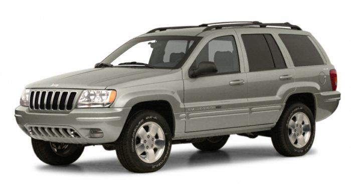 2001 jeep grand cherokee specs safety rating mpg. Black Bedroom Furniture Sets. Home Design Ideas