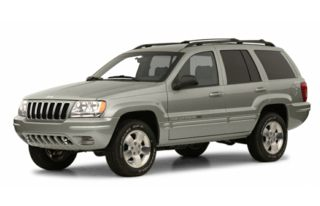 3/4 Front Glamour 2001 Jeep Grand Cherokee