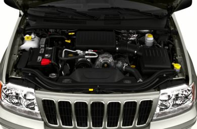Engine Bay  2001 Jeep Grand Cherokee