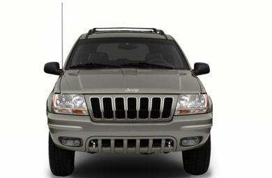 Grille  2001 Jeep Grand Cherokee