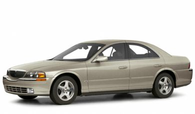 3/4 Front Glamour 2001 Lincoln LS