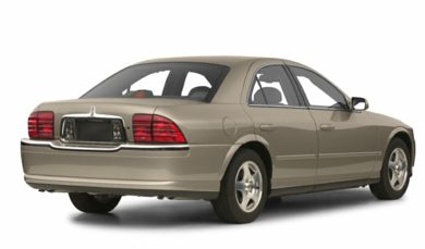 3/4 Rear Glamour  2001 Lincoln LS