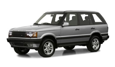 3/4 Front Glamour 2001 Land Rover Range Rover