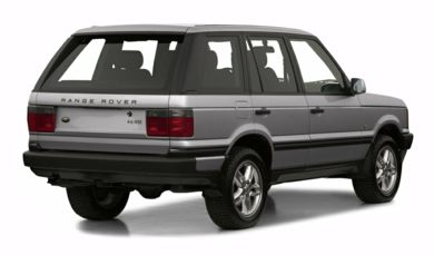 3/4 Rear Glamour  2001 Land Rover Range Rover