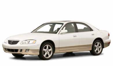 3/4 Front Glamour 2001 Mazda Millenia