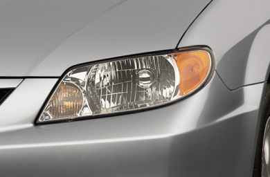 Headlamp  2001 Mazda Protege
