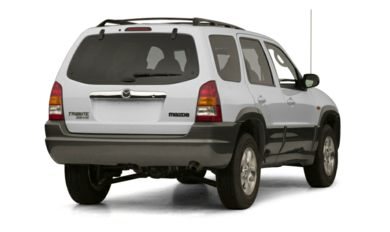 3/4 Rear Glamour  2001 Mazda Tribute
