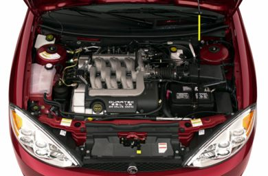 Engine Bay  2001 Mercury Cougar