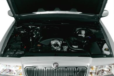 Engine Bay  2001 Mercury Grand Marquis