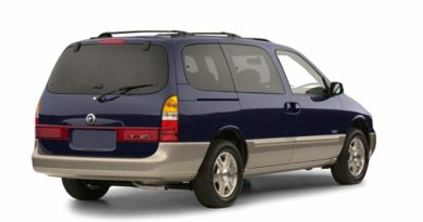 3/4 Rear Glamour  2001 Mercury Villager