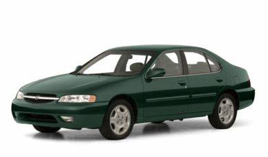 3/4 Front Glamour 2001 Nissan Altima