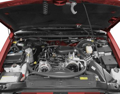 Engine Bay  2001 Oldsmobile Bravada