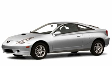 3/4 Front Glamour 2001 Toyota Celica