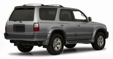 3/4 Rear Glamour  2001 Toyota 4Runner