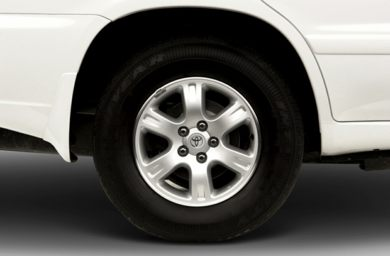 Tires 2001 Toyota Highlander
