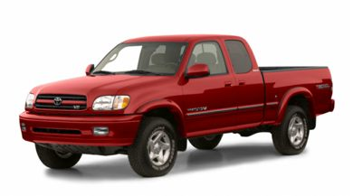 3/4 Front Glamour 2001 Toyota Tundra