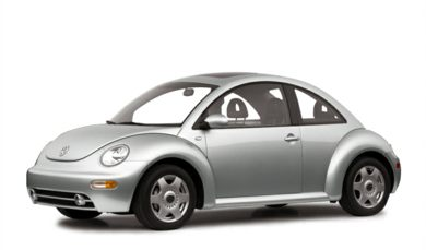 3/4 Front Glamour 2001 Volkswagen New Beetle