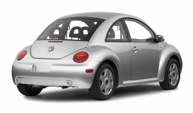 3/4 Rear Glamour  2001 Volkswagen New Beetle