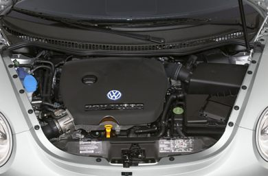 Engine Bay  2001 Volkswagen New Beetle