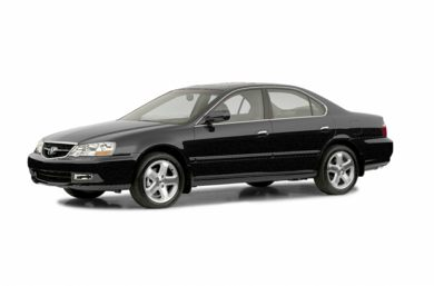 3/4 Front Glamour 2002 Acura TL