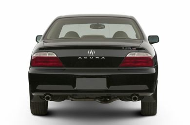 Rear Profile  2002 Acura TL