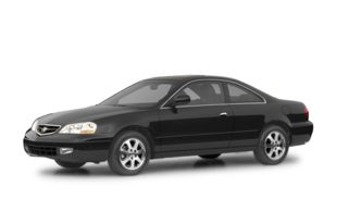 3/4 Front Glamour 2002 Acura CL