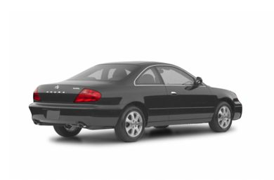 3/4 Rear Glamour  2002 Acura CL