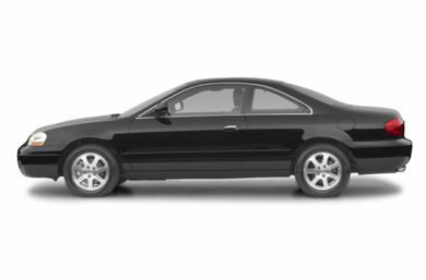 90 Degree Profile 2002 Acura CL