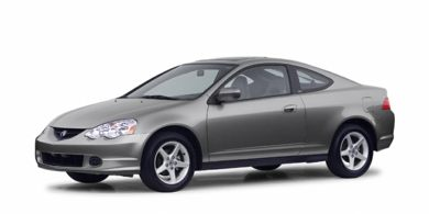 3/4 Front Glamour 2002 Acura RSX