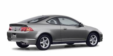 3/4 Rear Glamour  2002 Acura RSX