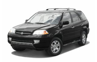 3/4 Front Glamour 2002 Acura MDX