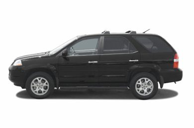 90 Degree Profile 2002 Acura MDX