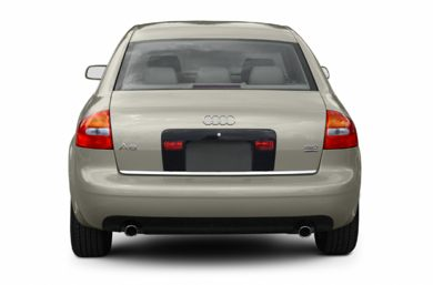 Rear Profile  2002 Audi A6