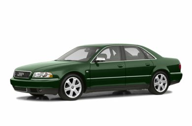 3/4 Front Glamour 2002 Audi S8