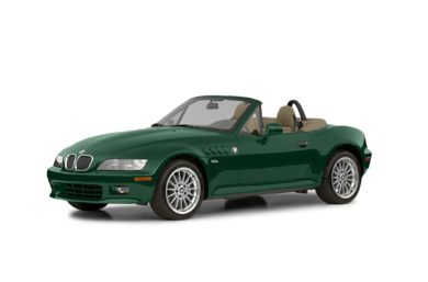 3/4 Front Glamour 2002 BMW Z3