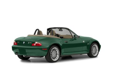 3/4 Rear Glamour  2002 BMW Z3