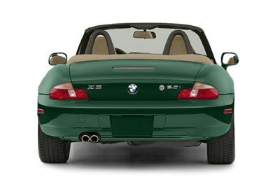 Rear Profile  2002 BMW Z3