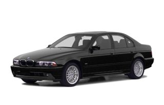 3/4 Front Glamour 2002 BMW M5
