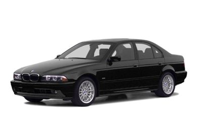 3/4 Front Glamour 2002 BMW 540