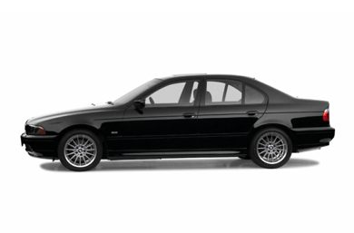 90 Degree Profile 2002 BMW 540