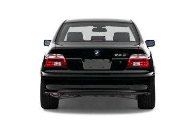 Rear Profile  2002 BMW 540