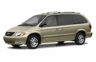 3/4 Front Glamour 2002 Chrysler Town & Country