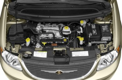 Engine Bay  2002 Chrysler Town & Country