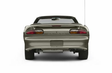 Rear Profile  2002 Chevrolet Camaro